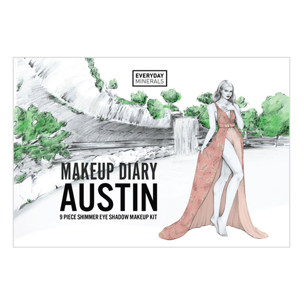 Everyday Minerals Makeup Diary Austin Kit